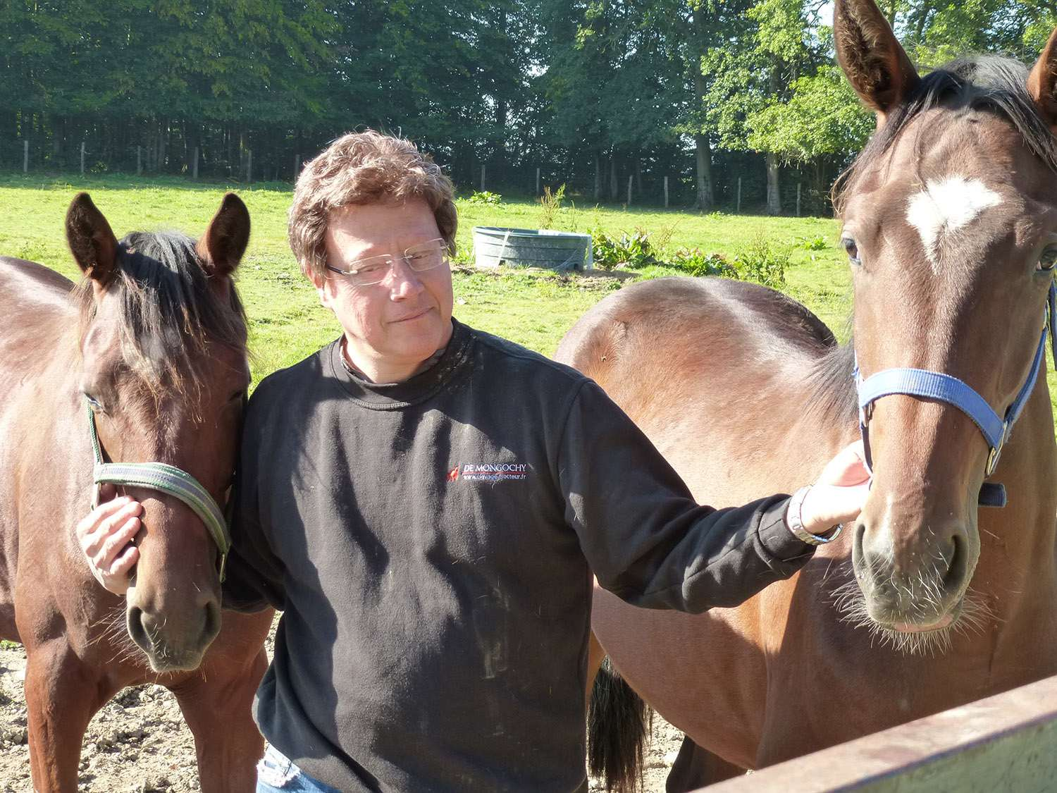 Didier Drouilly distributeur forever equin